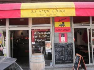 restaurant bar tapas espagnol El Papi Chulo Paris